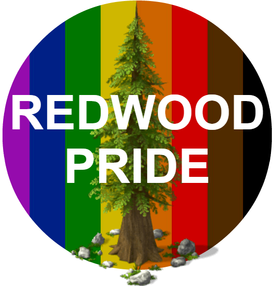 Saturday Sept, 29th 2018 – 2nd Annual Redwood Pride!