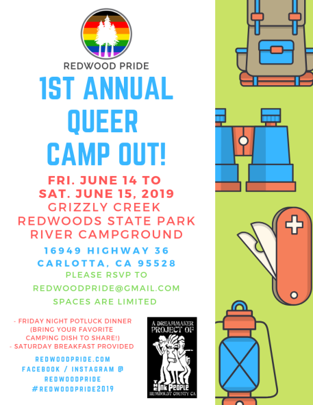 QUEER CAMP OUT
