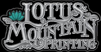Lotus Mountain Logo Grey Scale Simple